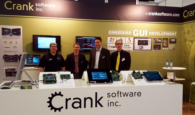 Crank Software auf der Embedded World 2016