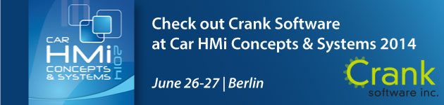 Crank Software @ Car HMi Concept Berlin 2014
