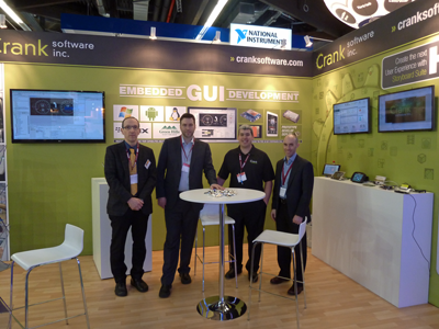 Crank Software auf der Embedded World 2014