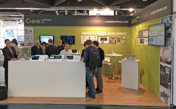 Crank Software + Embedded Tools auf der Embedded World 2015
